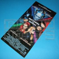 BATMAN AND ROBINUK Premiere Ticket