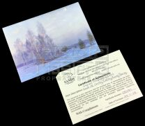 CHITTY CHITTY BANG BANGStage Cast Signed Card