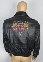 INTERVIEW WITH THE VAMPIRELeather Crew Jacket