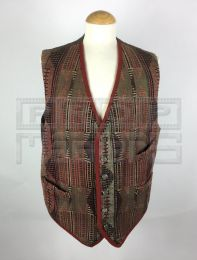 LIE DOWN WITH LIONS (RED EAGLE)Omar Sharif Waistcoat