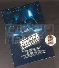 STAR WARS THE EMPIRE STRIKES BACKPress Synopsis + Badge
