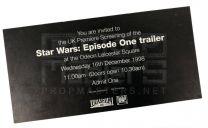 STAR WARS THE PHANTOM MENACE (1999)
