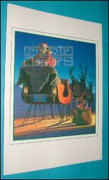 STAR WARSLucasfilm Xmas Card 1982