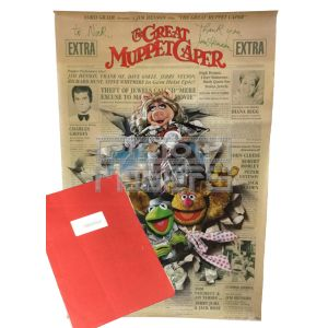 GREAT MUPPET CAPER, THEProduction Script & Signed Poster