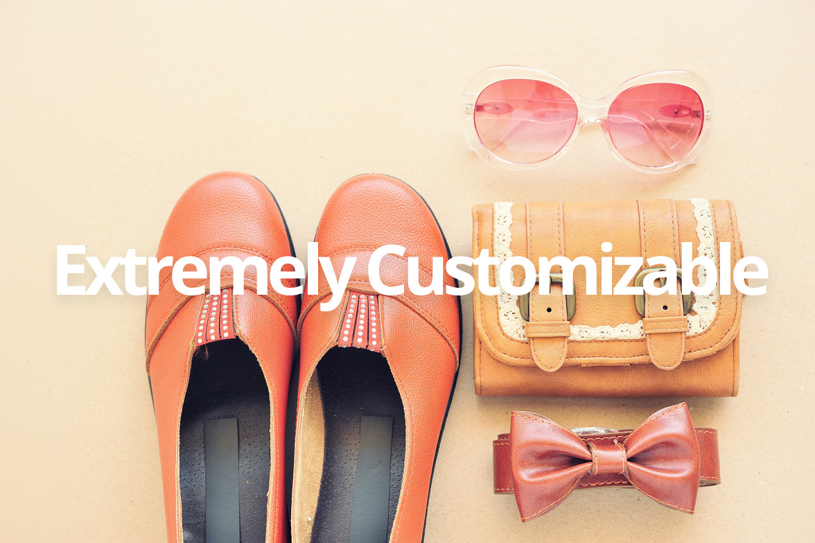 Customizable Magento Template